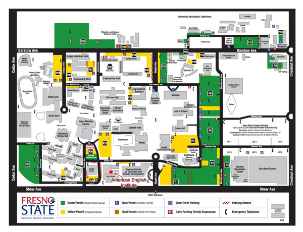 Contact Us/Campus Map
